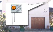 alarme sirene girophare flash exterieur